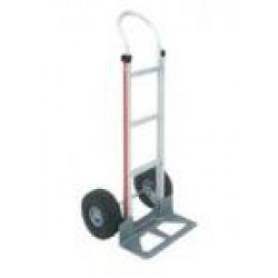 MAGLINER Aluminium Hand Truck with Pneumatic Wheels and Pram Handle