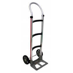 MAGLINER Aluminium Hand Truck with Rubber Wheels and Pram Handle