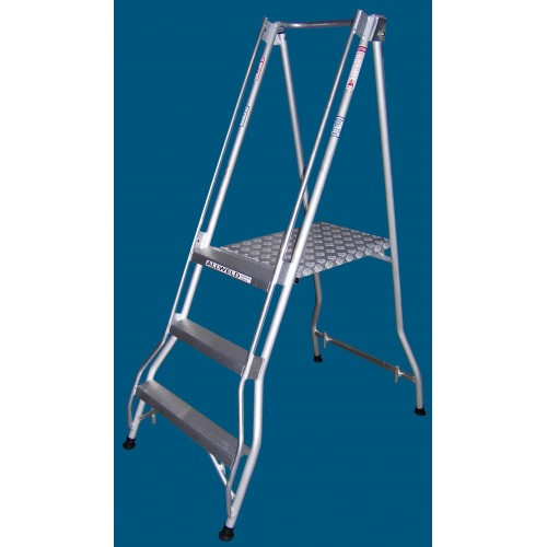Allweld Aluminium Platform Ladder 0.82m