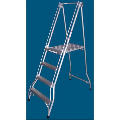 Allweld Aluminium Platform Ladder 1.09m