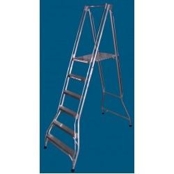 Allweld Aluminium Platform Ladder 1.66m