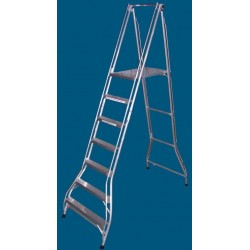 Allweld Aluminium Platform Ladder 1.92m