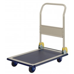 PRESTAR NB101 Flat Bed Platform Trolley 150 Kg - One Folding Handle