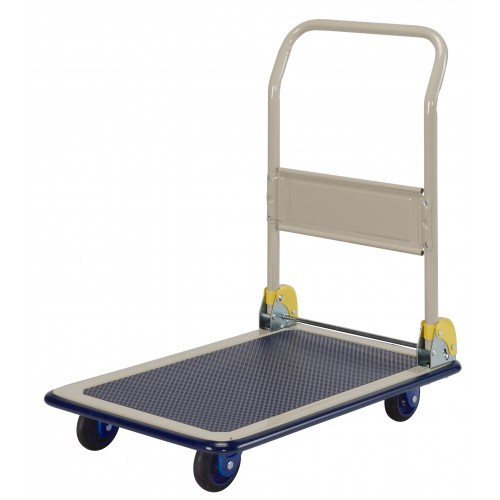 PRESTAR NB101 Flat Bed Platform Trolley 150 Kg - One Folding Handle