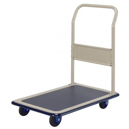 PRESTAR NB102 Flat Bed Platform Trolley 150 Kg - One Fixed Handle