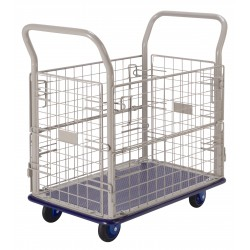 PRESTAR NB107 Cage Trolley Wire Sides Steel Base 150 Kg