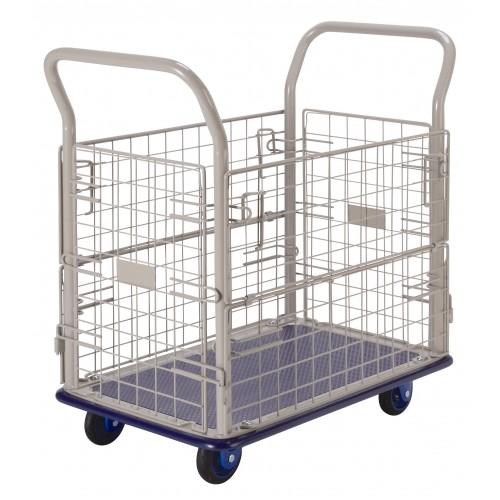 PRESTAR NB107 Cage Trolley Wire Sides Steel Base 150 Kg