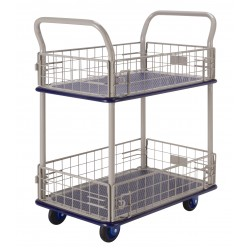 PRESTAR NB127 Cage Trolley 2 Tier with Short Wire Sides 150 Kg
