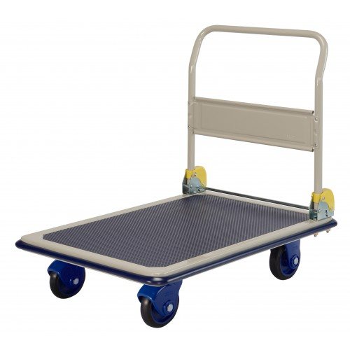 PRESTAR NF301 Flat Bed Platform Trolley 300 Kg - One Folding Handle