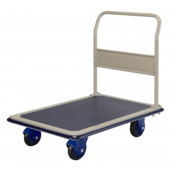 PRESTAR NF302 Flat Bed Platform Trolley 300 Kg - Fixed Handle
