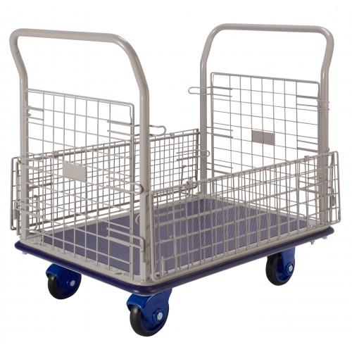 PRESTAR NF307 Cage Trolley Wire Sides Steel Base 300 Kg