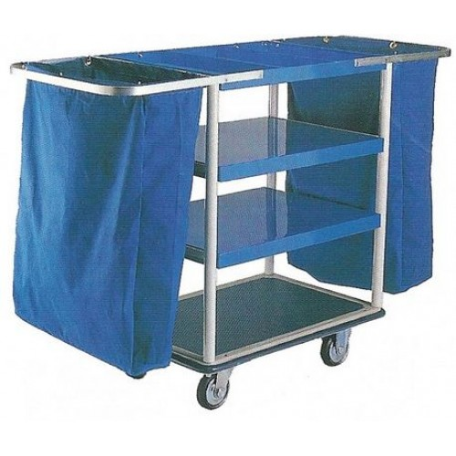 PRESTAR NFMT Maid Trolley - 3 Trays and 2 Bags