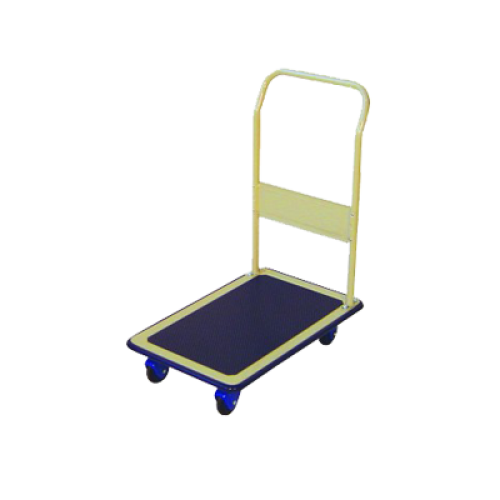 PRESTAR NF301HB Flat Bed Platform Trolley 300 Kg - One Folding Handle with Handbrake