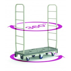 PRESTAR SC500 Slim Cart Supermarket Stacker