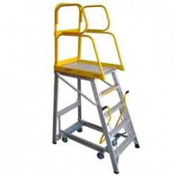 Stockmaster Navigator Mobile Platform Ladder 1.145m